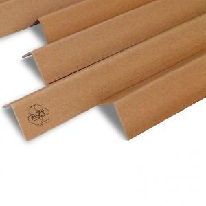 Edge protection made of solid board