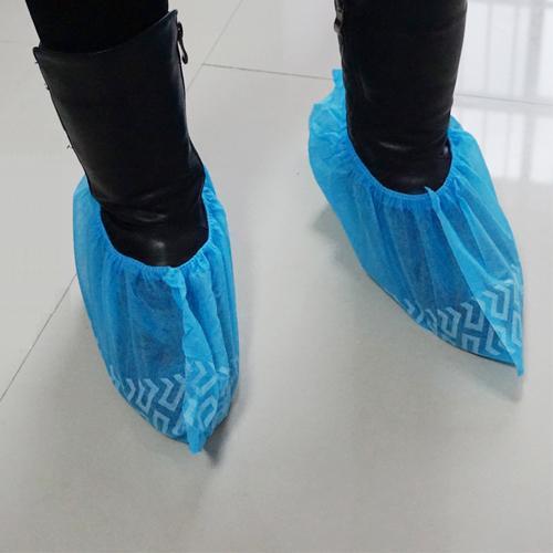Shoecove antiderrapante impresso não tecido