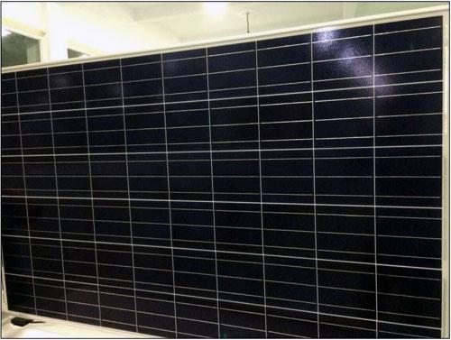 Módulo solar polivinílico 270w