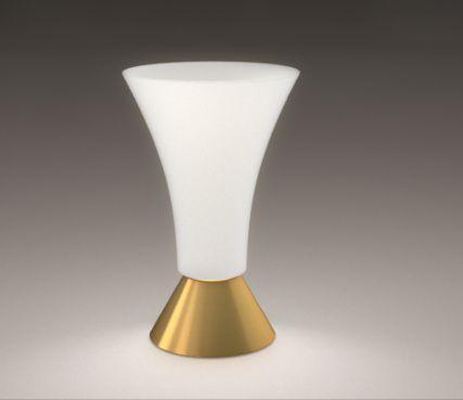 Vase shaped lamp