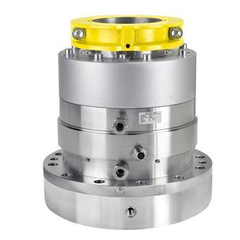 Double-acting mechanical seals