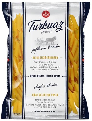 Turkuaz Premium Penne Rigate Pasta