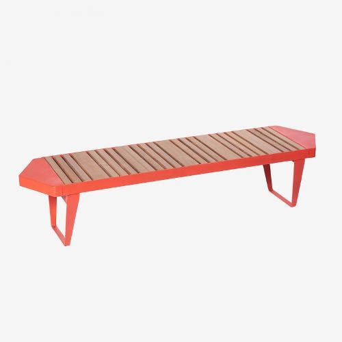 Bench «Infinity wood»