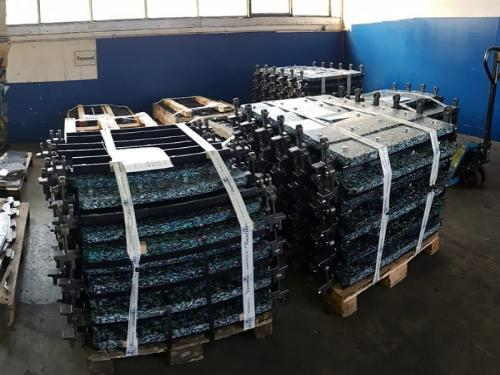 Conveyor chains - Forked lug chains
