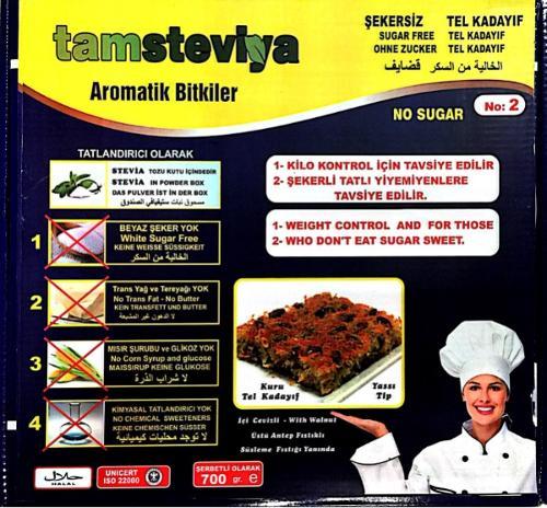 Stevia Baklava