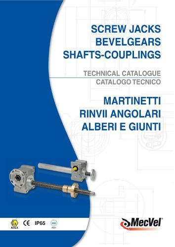 Martinetti meccanici e Gruppi di Manovra