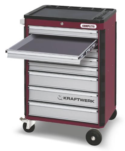 Servante d'atelier 8 tiroirs Kraftwerk Completo P308