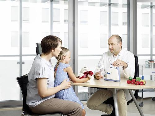 Aspirateur pour voies respiratoires pédiatrie Clario Toni