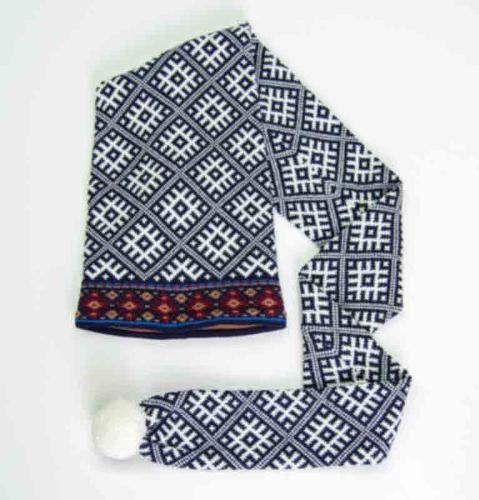 100% Wool Hat-Scarf 'TILDA'
