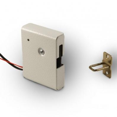 Promix-sm308 Electromechanical Lock With Pusher And Door Position Sensor
