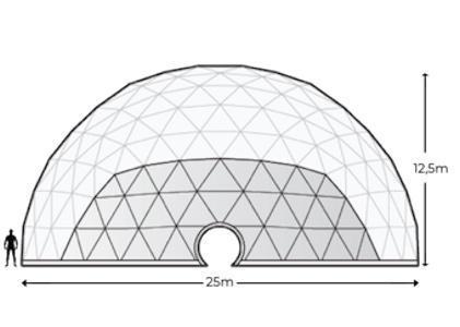 Alquiler Domos Geodésicos Geodomes G500