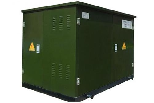 cabinet type transformer substation