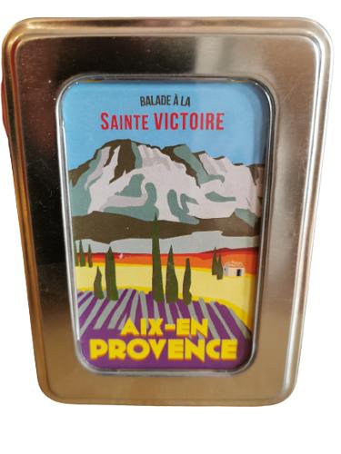 """Herbes De Provence - Boite Vintage """"aix Ste. Victoire"""""""