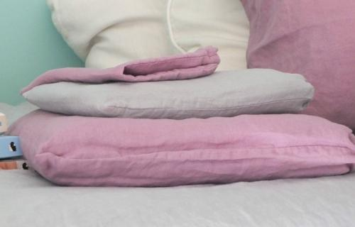 duvet covers, fitted sheets and pillows