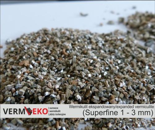 Vermeko expanded vermiculite Superfine fraction