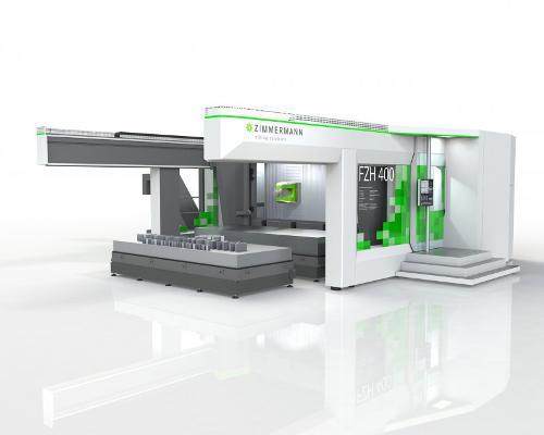 Горизонтальный обрабатывающий центр FZH400