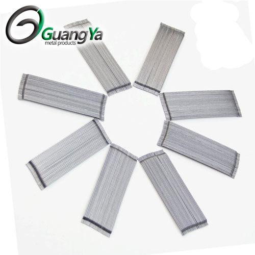 Extremo de gancho galvanizado de fibra de acero