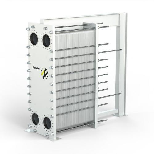 Intercambiadores de calor de placas con empaquetaduras