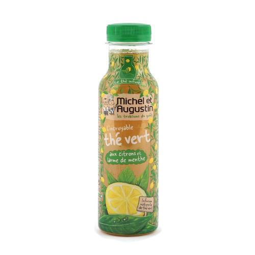 Thé vert aux citrons/menthe 330ml - MICHEL ET AUGUSTIN