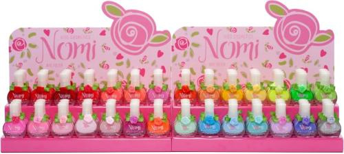 Nomi cosmetics for young girl's nail polish