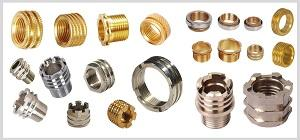 Brass Pipe Fitting Insert