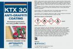 KTX 30 Anti-graffiti Coating – a durable system
