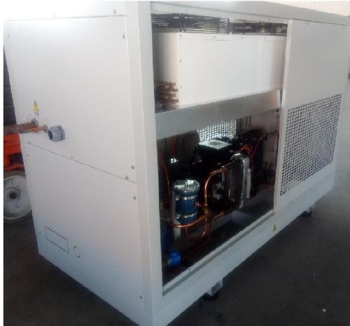 blast freezer compressor/condensing unit