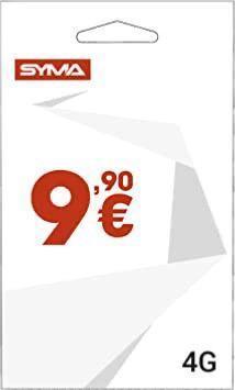 Carte Sim Syma 5 € Credit