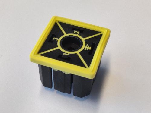 Inyección de 2 componentes plasticos