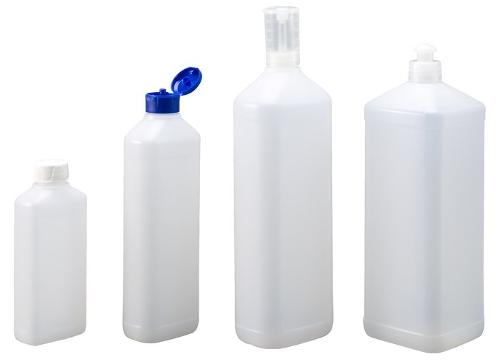 Rechteck-Flaschen Serie FOM - Polyethylen (PE-HD)