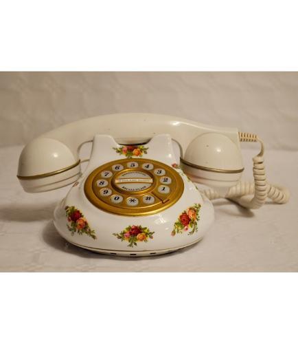 Teléfono De Porcelana Inglesa
