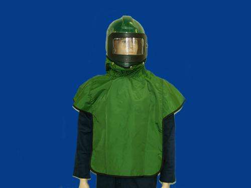 Green Nylon cape