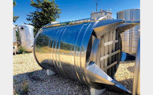 304 Stainless Steel Tank - Cooling Rings - Floating Cap - Spaipser7500b Model