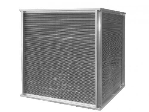 Customized cross flow heat exchanger as air air heat exchanger