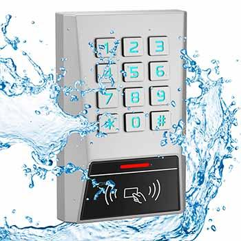 Easy keypad access control with EM/HID/IC reader