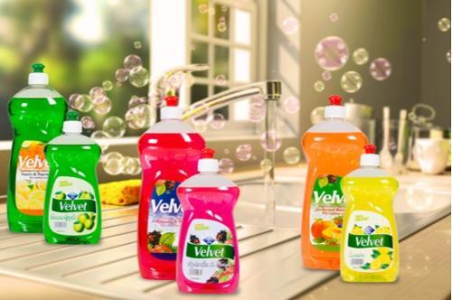 Velvet Dishwashing Detergents