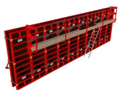 Safety for modular formwork and manual formwork