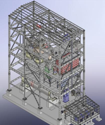 Stahlbau- 2D/3D Ausführungsplanung