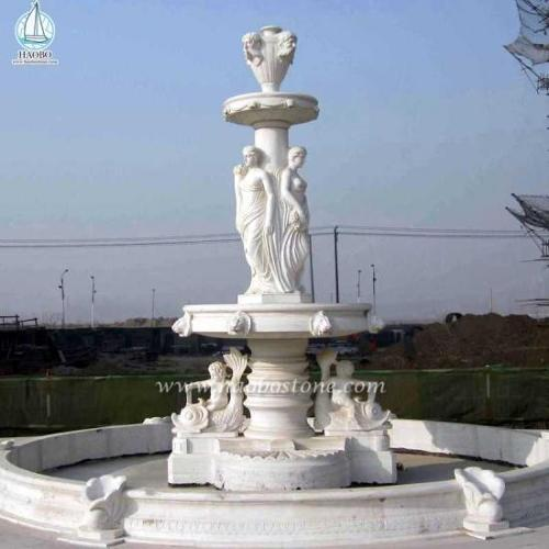 European Style Fountain Garden Marble Fountain