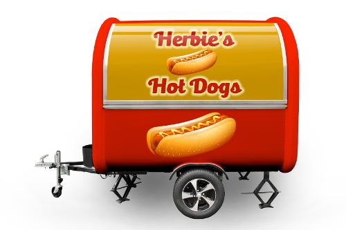 Foodtruck Anhänder Buddystar Hot Dog