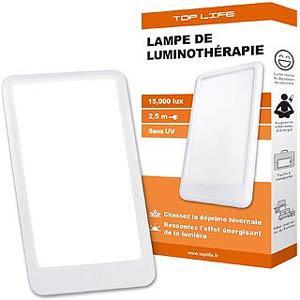 Lampe de luminothérapie 15000 Lux