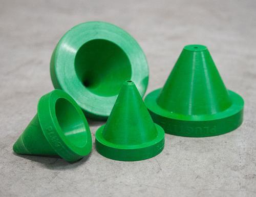 Rubber nozzle adaptors