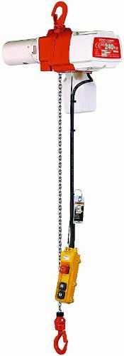Palans électriques à chaîne - usage intensif