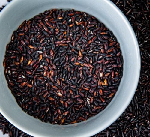 Black rice round grain