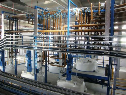 ALKYD RESIN POLYESTER RESIN PLANT PAINT PLANT
