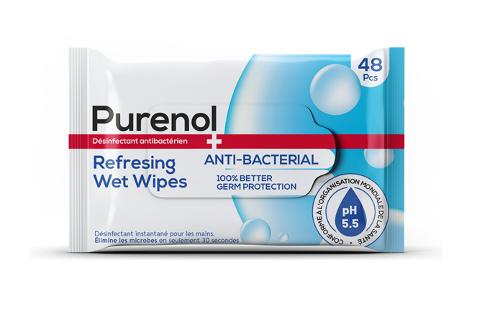 Anti-Bacterial Wet Wipes