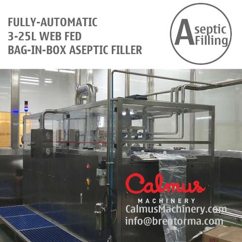 Fully-automatic 3-25L Bag in Box Aseptic Filling System