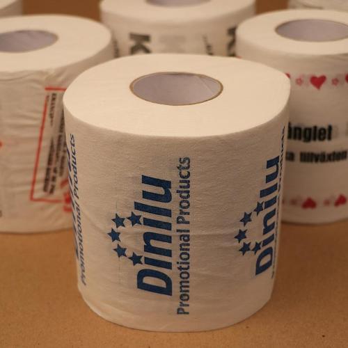 Bedrucktes Toilettenpapier