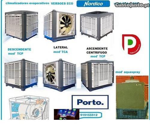evapcoolers climatizador evaporativo em pp/vc