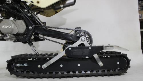 Snowbike KIT Pitbikelle ja sähköpyörälle